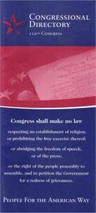 110th U.S. Congress Directory (2007)