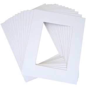 11x14 inch white mat for 8x10 photos