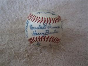 1964 Baltimore Orioles facsimile team autographed baseball
