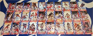 1980 USA Hockey Team Miracle on Ice 1995 Signature Rookies certified autograph partial card set (29 different)