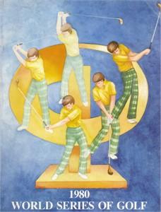 1980 World Series of Golf program (Tom Watson)