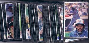 1985 Donruss Action All-Stars near complete jumbo card set (George Brett Cal Ripken Nolan Ryan)