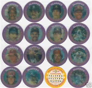 1986 Slurpee 7-11 South 16 baseball coin set MINT (Cal Ripken Nolan Ryan Mike Schmidt Ozzie Smith)