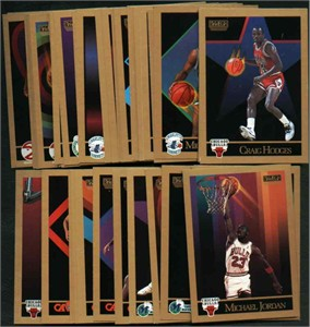 1990-91 SkyBox basketball 300 card complete set (Michael Jordan)