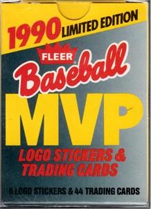 1990 Fleer MVP complete 44 card set (Ken Griffey Jr. Tony Gwynn Kirby Puckett Cal Ripken Ozzie Smith Robin Yount)