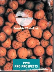 1990 Star Pics Pro Prospects basketball complete 70 card set (Derrick Coleman Toni Kukoc Gary Payton)