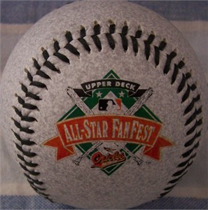 1993 All-Star Fanfest commemorative Fotoball baseball