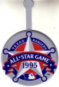 1995 MLB All-Star Game logo metal pin