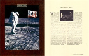 1969 Neil Armstrong Apollo 11 moon landing 8x10 photo