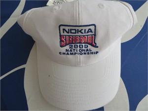 2000 Sugar Bowl National Championship cap or hat (Florida State 46 Virginia Tech 29)