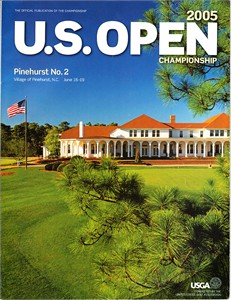 2005 U.S. Open Pinehurst No. 2 golf program (Michael Campbell wins)