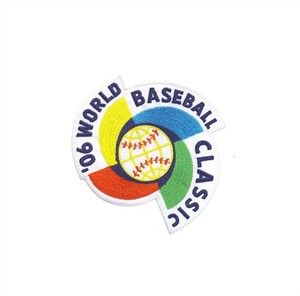 2006 World Baseball Classic embroidered jersey sleeve patch