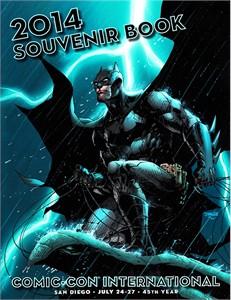 2014 San Diego Comic-Con Souvenir Book Program (Batman cover by Jim Lee)
