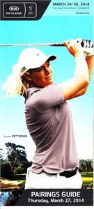 2014 LPGA Kia Classic golf Thursday pairings guide (Suzann Pettersen)