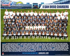 2014 San Diego Chargers 8x10 team photo Keenan Allen Antonio Gates Philip Rivers
