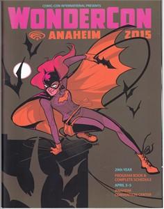 2015 Wondercon program magazine (Batgirl cover)