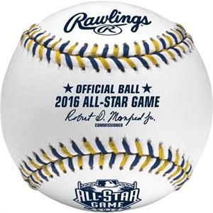 2016 MLB All-Star Game official Rawlings baseball (Eric Hosmer MVP)