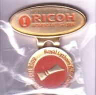 2009 LPGA Ricoh Women's British Open ball marker (Catriona Matthew)