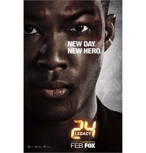 24 Legacy 2016 Comic-Con 11x17 Fox promo poster (Corey Hawkins)