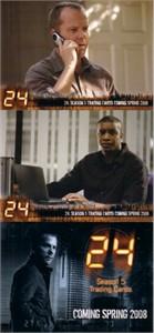 24 Season 5 ArtBox promo card set (3)