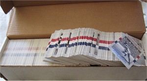 Lot of 800 assorted 1991 Impel USA Olympic Hall of Fame cards MINT (NO SETS)