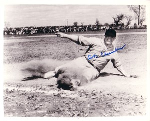 A.B. Happy Chandler autographed 8x10 photo