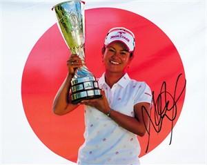 Ai Miyazato autographed 2009 LPGA Evian Masters 8x10 photo