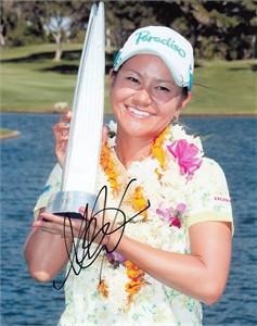 Ai Miyazato autographed 2012 LPGA Lotte Championship 8x10 photo