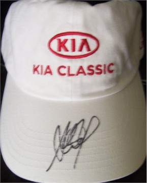 Ai Miyazato autographed LPGA Kia Classic golf cap or hat