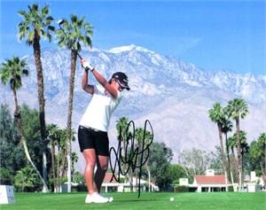 Ai Miyazato autographed LPGA Kraft Nabisco Championship 8x10 photo