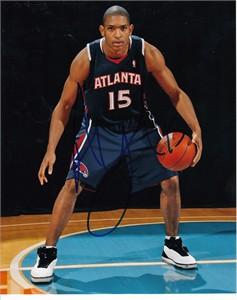 Al Horford autographed Atlanta Hawks 8x10 photo