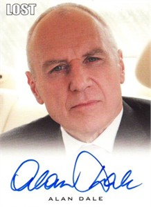 Alan Dale (Charles Widmore) LOST certified autograph card