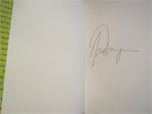 Alex Morgan autographed Breakaway hardcover book
