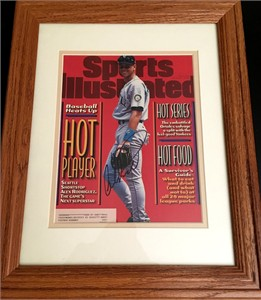 Alex Rodriguez autographed Seattle Mariners 1996 Sports Illustrated