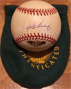 Alex Rodriguez autographed Rawlings MLB baseball (UDA)