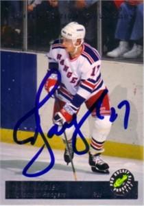 Alexei Kovalev autographed 1993 Classic Hockey card