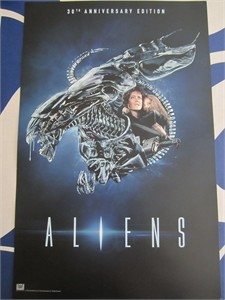 Aliens 30th Anniversary 2016 Comic-Con 11x17 mini movie poster (Sigourney Weaver)