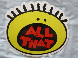 All That 2016 Comic-Con cardboard logo