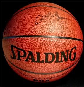 Allen Iverson autographed Spalding NBA basketball