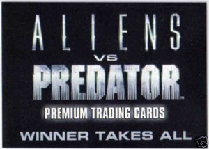 Aliens vs Predator 2007 Comic-Con promo card AP-SD2007