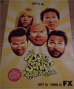 It's Always Sunny in Philadelphia 2010 Comic-Con promo poster