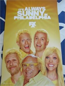 It's Always Sunny in Philadelphia 2013 Comic-Con 11x17 promo poster MINT