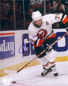 Alexei Yashin autographed New York Islanders 8x10 photo