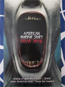 American Horror Story Freak Show 2015 mini promo poster (mouth)