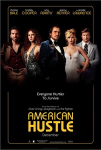 American Hustle mini movie poster (Amy Adams Christian Bale Bradley Cooper Jennifer Lawrence Jeremy Renner)