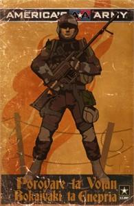 America's Army 2014 Wondercon mini promo poster