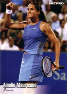 Amelie Mauresmo 2003 Netpro card
