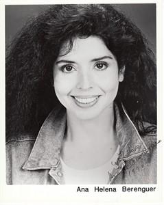 Ana Helena Berenguer autographed 8x10 photo