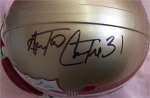 Antonio Cromartie autographed Florida State Seminoles mini helmet