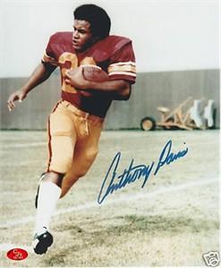 Anthony Davis autographed USC 8x10 photo